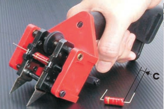 Axial Electronic Components Lead Forming Manual And